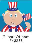 Uncle Sam Clipart #43288 by Dennis Holmes Designs