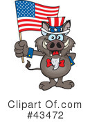 Royalty-Free (RF) Uncle Sam Clipart Illustration #43472