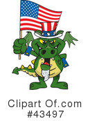 Uncle Sam Clipart #43497 by Dennis Holmes Designs