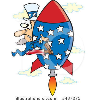Uncle Sam Clipart #437275 by toonaday
