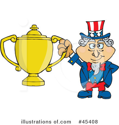 Uncle Sam Clipart #45408 by Dennis Holmes Designs
