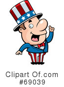 Royalty-Free (RF) Uncle Sam Clipart Illustration #69039