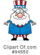 Royalty-Free (RF) Uncle Sam Clipart Illustration #94550