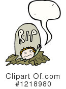 Royalty-Free (RF) Undead Clipart Illustration #1218980
