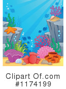Royalty-Free (RF) Under The Sea Clipart Illustration #1174199