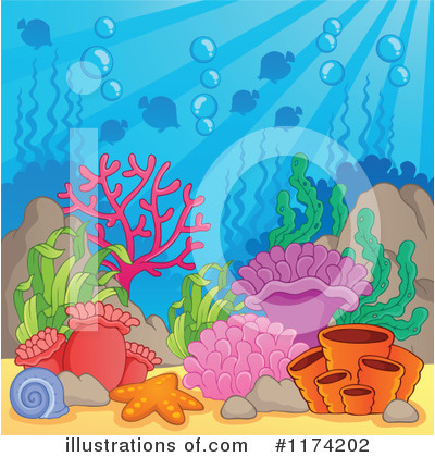 Sea Life Clipart #1174202 by visekart