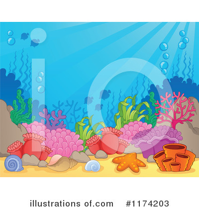 Sea Life Clipart #1174203 by visekart