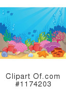 Royalty-Free (RF) under the sea Clipart Illustration #1174203