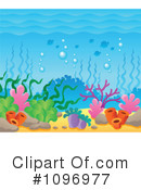 Royalty-Free (RF) Underwater Clipart Illustration #1096977