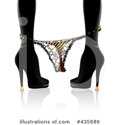 Royalty-Free (RF) Underwear Clipart Illustration by MilsiArt - Stock Sample #435686