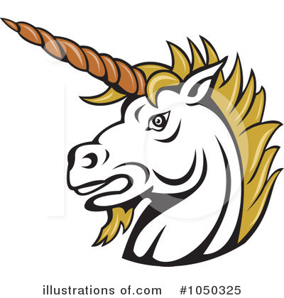 Unicorn Clipart #1050325 by patrimonio