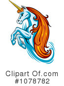 Royalty-Free (RF) unicorn Clipart Illustration #1078782