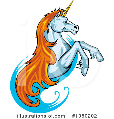 Unicorn Clipart #1080202 by Vector Tradition SM