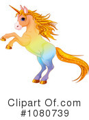 Royalty-Free (RF) Unicorn Clipart Illustration #1080739