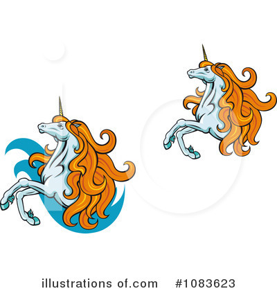 Unicorn Clipart #1083623 by Vector Tradition SM