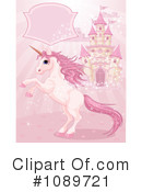 Royalty-Free (RF) unicorn Clipart Illustration #1089721