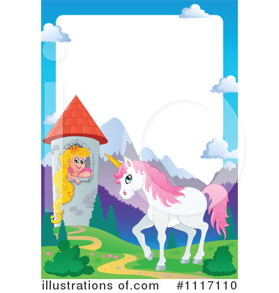 Unicorn Clipart #1117110 by visekart
