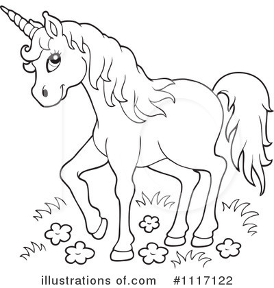 Unicorn Clipart #1117122 by visekart