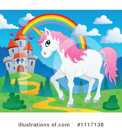 Unicorn Clipart #1117136 by visekart