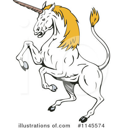 Unicorn Clipart #1145574 by patrimonio