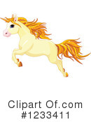 Royalty-Free (RF) Unicorn Clipart Illustration #1233411