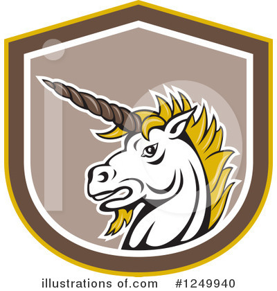 Unicorn Clipart #1249940 by patrimonio