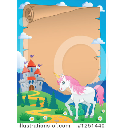 Unicorn Clipart #1251440 by visekart