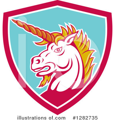 Unicorn Clipart #1282735 by patrimonio