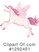 Royalty-Free (RF) Unicorn Clipart Illustration #1292451