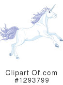 Royalty-Free (RF) Unicorn Clipart Illustration #1293799