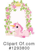 Royalty-Free (RF) Unicorn Clipart Illustration #1293800