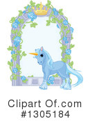 Royalty-Free (RF) Unicorn Clipart Illustration #1305184