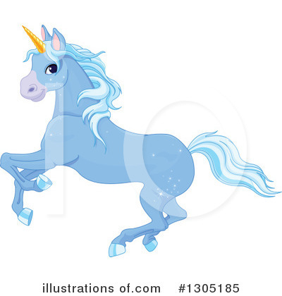 Unicorn Clipart #1305185 by Pushkin