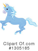 Royalty-Free (RF) Unicorn Clipart Illustration #1305185