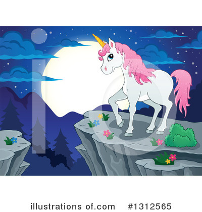Unicorn Clipart #1312565 by visekart