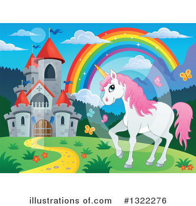Unicorn Clipart #1322276 by visekart