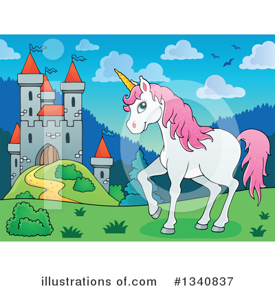 Unicorn Clipart #1340837 by visekart