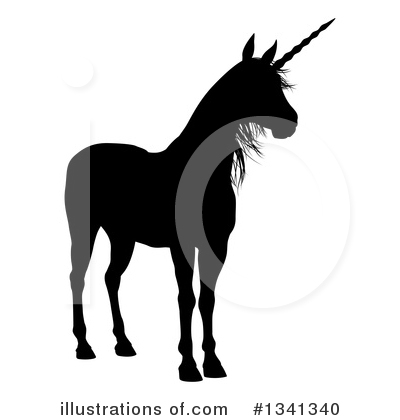 Unicorn Clipart #1341340 by AtStockIllustration