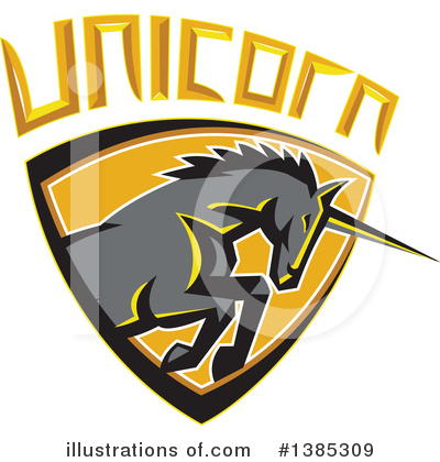 Unicorn Clipart #1385309 by patrimonio