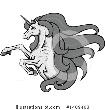 Unicorn Clipart #1409463 by Vector Tradition SM