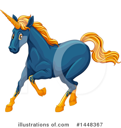 Unicorn Clipart #1448367 by Graphics RF