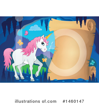 Unicorn Clipart #1460147 by visekart