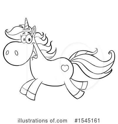 Unicorn Clipart #1545161 by Hit Toon