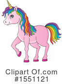 Unicorn Clipart #1551121 by visekart