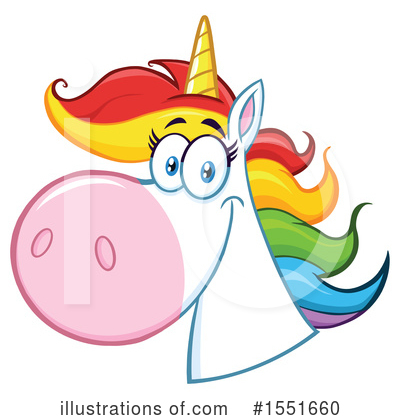 Unicorn Clipart #1551660 by Hit Toon