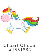 Royalty-Free (RF) Unicorn Clipart Illustration #1551663