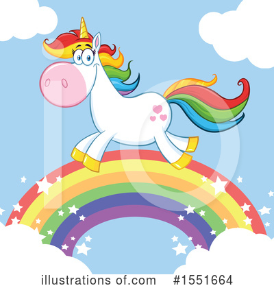 Unicorn Clipart #1551664 by Hit Toon