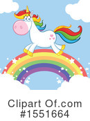 Royalty-Free (RF) Unicorn Clipart Illustration #1551664