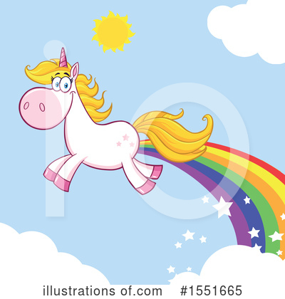 Unicorn Clipart #1551665 by Hit Toon