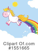 Royalty-Free (RF) Unicorn Clipart Illustration #1551665